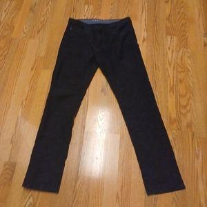 Perry Ellis Men's Casual Black Pants